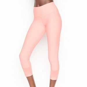 VICTORIAS SECRET Neon Pink Sport Tights
